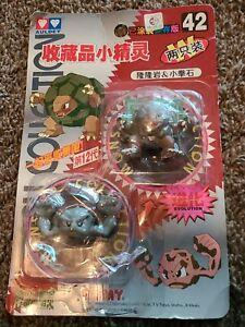 "Pokemon Japan Tomy  2"" Mini Figure 1998 GOLEM EVOLUTION Licensed Nintendo IMPORT"