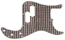 P Bass Precision Pickguard Custom Fender 13 Hole Guitar Pick Guard Houndstooth W