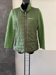 Almgwand Jacke mit Strickärmeln grün Gr. 42 - Gebraucht