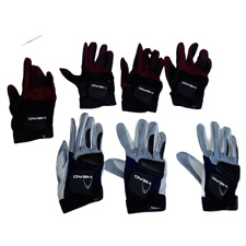 Lot of 7 Womens Right Hand RH HEAD Racquetball/Pickleball Gloves Sz Small USED