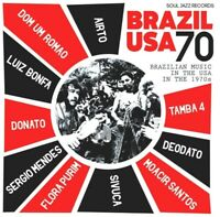 SOUL JAZZ RECORDS PRESENTS/BRAZIL USA 70  2 VINYL LP + MP3 NEW+
