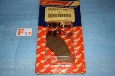 2 plaquettes de frein avant d'origine Honda XR 250 400 R 1996/2004 06455-KCZ-000