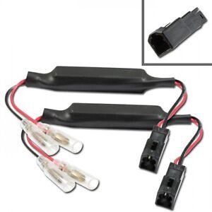 Câble Adaptateur Résistances Pour Clignotants LED Ducati Monster 696 796 1100