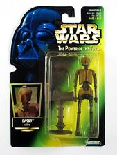 Star Wars EV-9D9 Kenner 1997 Power of the Force Action Figure on Green Holo Card