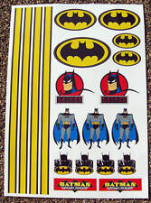 RC AUTOCOLLANTS BATMAN STICKERS associés HPI Tamiya Kyosho
