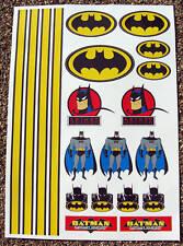 RC BATMAN stickers decals Associated HPI Tamiya Kyosho