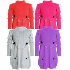 Markenlose Mädchen-Pullover & -Strickware aus Polyester