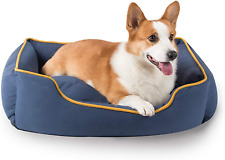 New listing Hipipet Dog Bed with Removable Washable Cushioned Pillow 24�x19�x7�, Square Dog