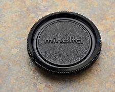 Genuine Minolta Black Camera Body Cap SR MC MD SRT XG XD (#1543)
