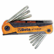 Set di chiavi maschio piegate per viti Torx con supporto - Beta art. 97TX/BG8