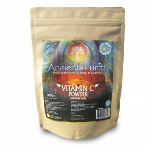 VITAMIN C POWDER (ASCORBIC ACID) GMO-FREE 500G