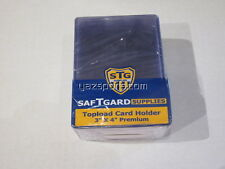 "Sports Cards Premium Topload Card Holder 3x4"" Pack of 25"