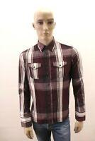Camicia DIESEL Uomo Shirt Chemise Man Taglia Size L / Slim