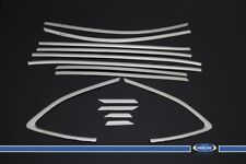 FITS Hyundai Tucson Chrome Window Frame Cover 14 Pcs S.Steel 2015-UP