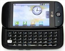 LG GW620 Black GSM Unlocked, Quadband,5mp camera,QWERTY Keyboard Cell Phone.