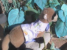 Ferret Harness - Lavender Flannel Fairies - M/L