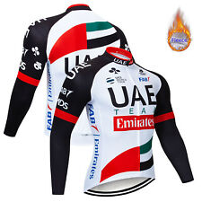 2019 New Mens Cycling Thermal Jersey Winter Riding Fleece Jersey Jackets Garment
