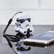 ORIGINALE Stormtrooper Mini Altoparlante Bluetooth da Viaggio Portatile Wireless di Star Wars