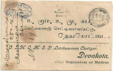 INTERESTING 1925 Malaya Straits Settlements Cover  . SEE SCANS     NEW LOW PRICE