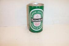 Heineken Lager Beer 34Cl Crimp Steel Amsterdam Holland Bottom Opened