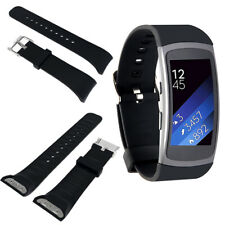 Large Silicone Wristband Bracelet Band Watch Strap For Samsung Gear Fit2 SM-R360