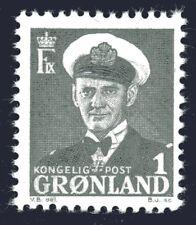 Greenland 1950 1 Ore King Frederik IX Mint Unhinged