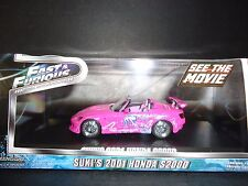 Greenlight Honda S2000 Suki's Car Pink Fast and Furious 86225 1/43