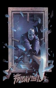 FRIDAY THE 13TH PART III 3D Movie Poster Horror Jason Voorhees