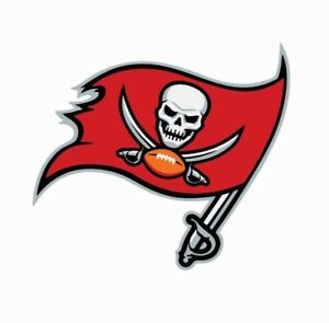 Tampa Bay Buccaneers NFL Football Color Logo Sports Decal Sticker-Free Shipping