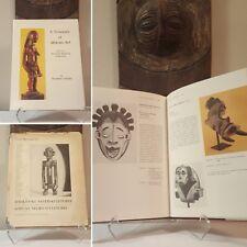 Tribal African Art 2-book bundle RARE COLLECTIBLE Mask Figure Sculpture Statue