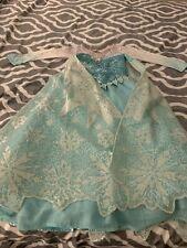 DISNEY ELSA LIMITED EDITION COSTUME/DRESS , GIRLS SIZE 5