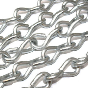 3mm ZINC PLATED JACK CHAIN 4 METRE LENGTHS DECORATIVE PICTURES WALL ART MIRRORS