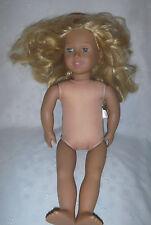 "Battat Our Generation Nude Doll 19"" Firm Head Limbs Plush Toy Stuffed"