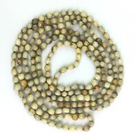"""Vintage Job's Tears Seed Bead Strand Necklace Layering Boho Dyed 83"""""""
