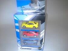 AUTO SET MITSUBISHI MAZDA FORD 1:72 CARARAMA. NEW IN BOX.