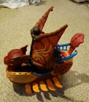 Fisher Price Imaginext Dragon Serpent Pirate Viking Ship 2010