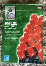 Home Accents Holiday 100 LED Dome Lights in Red Color