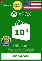 ✅ Xbox Live Gift Card 10  USD Key UNITED STATES ✅
