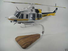 Bell 412 Helicopter Wood Model BIG Free Shipping