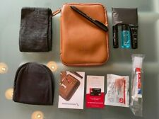 """American Airlines  Limited Edition Amenity Kit """" This is Ground"""" braun,New!!!"""