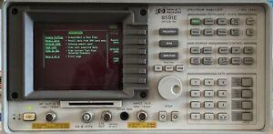 HP 8591E Spectrum Analyzer w/Opt 001 023 101 102 140