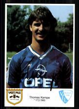 Thomas Kempe VfL Bochum 1987-88 AUTOGRAFO MAPPA ORIGINALE FIRMATO + a 86052