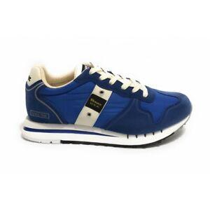 BLAUER USA quartz sneakers scarpa da ginnastica con logo 100% originale da uomo