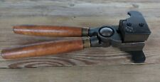 Unbranded Antique Ball Bullet Mould with handles Muzzleloader 4 Cavity