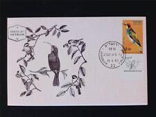 ISRAEL MK 1963 BIRDS BIENENFRESSER VÖGEL MAXIMUMKARTE MAXIMUM CARD MC CM c5606