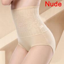 Women Tummy Control Lace High Waist Body Shaping Panties Shapewear Underwear>v