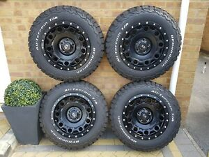 KMC Holeshot wheels + BF Goodrich AT Tyres for a vw Volkswagen Transporter t5 t6