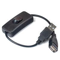 USB-Kabel mit EIN / AUS-Schalter Power Control für Himbeere Pi New.