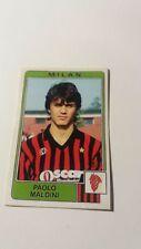 Figurina Paolo Maldini Milan autoprodotta 1984/85 Fac simile Panini
