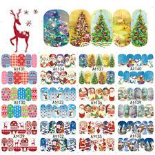 32 PCS Beauty Christmas Transfer Art Decoration Nail Sticker Decals A1129-1160